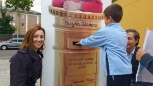 Envía una sonrisa contra el cáncer infantil de la Fundación Aladina