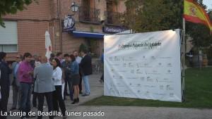 Presentación Premio Palacio del Infante por parte de la Asociación Boadilla Activa