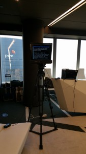 Servicio teleprompter Presentación SEAT Torre de Cristal Castellana