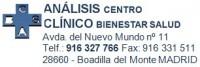 Analisis Clínicos bienestar salud GESPROSER MÉDICA, S.L.