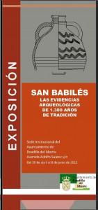 exposicion restos arqueológicos San Babilés