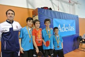 Campeonato de primavera 2015 tenis de mesa