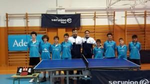Club Tenis de Mesa Boadilla irá al campeonato de España