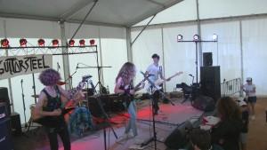 GuitarSteel en concierto en el Boajam Previous 2105