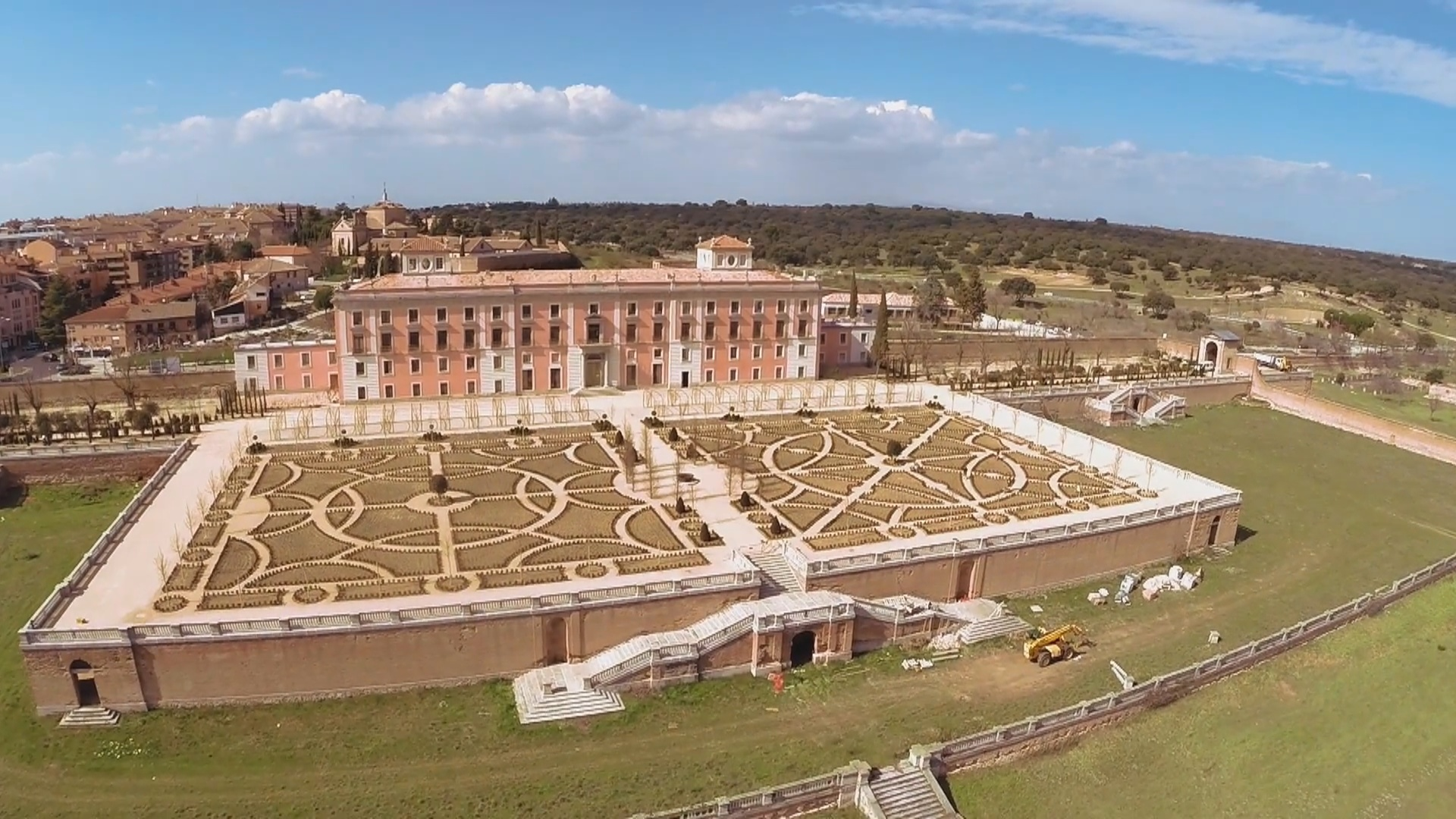 Inauguración Jardines Palacio Infante Don Luis