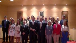 Pleno de investidura de Antonio González Terol como alcalde de Boadilla