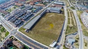 Vista aérea Comlejo deportivo Condesa de Chinchón