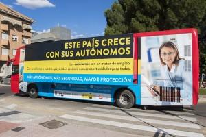 El Autobús del emprendedor visita Boadilla