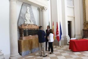 Visita de la Vicepresidenta del Gobierno al Palacio del Infante  Don Luis