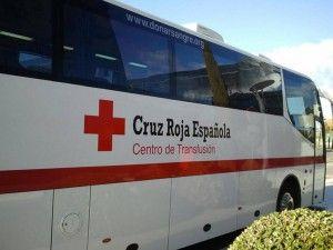 Bus Donación de Sangre de la Cruz Roja, en Boadilla en agosto de 2015