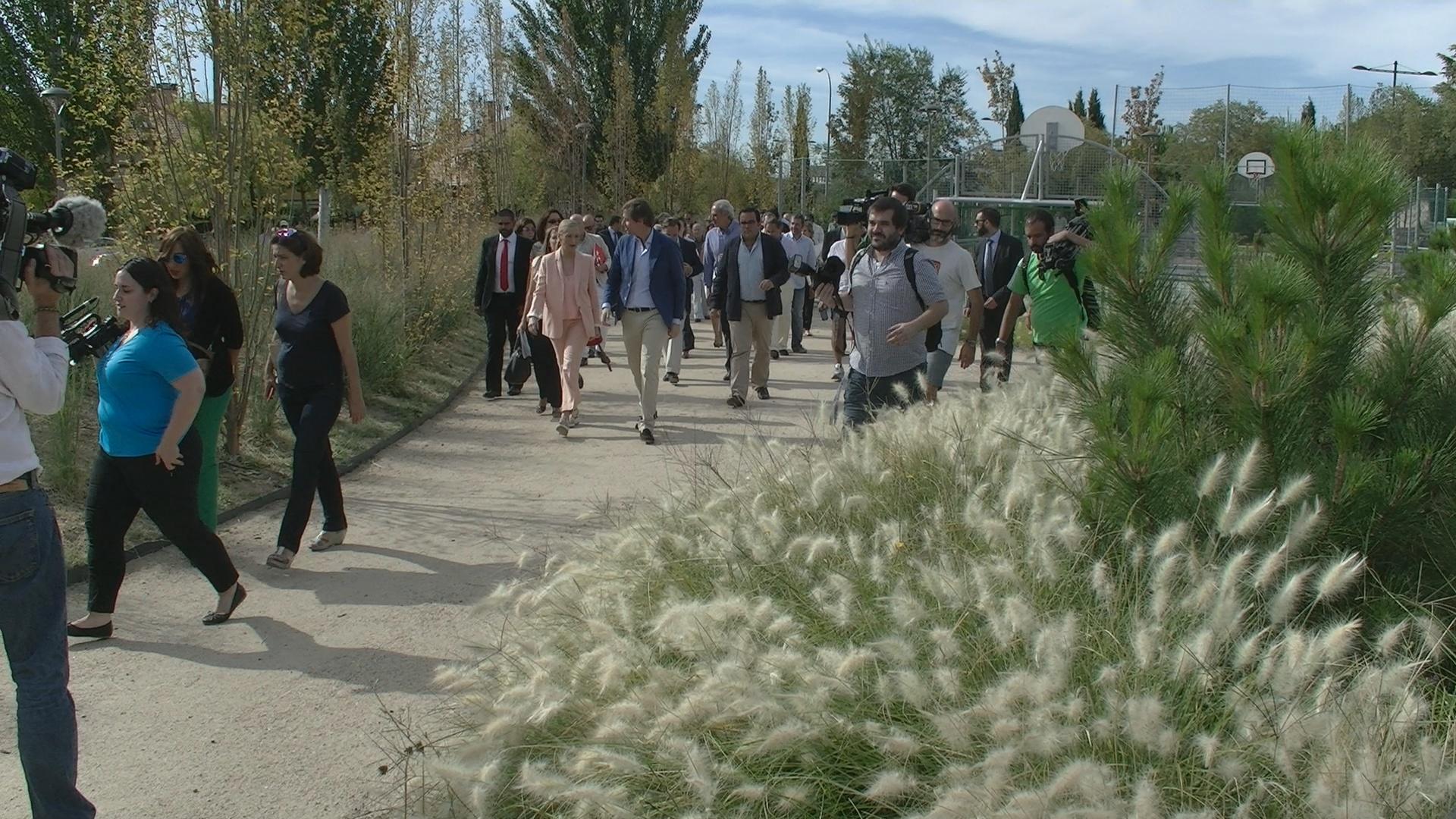 Inauguración Parque Lineal Juan Carlos I Boadilla