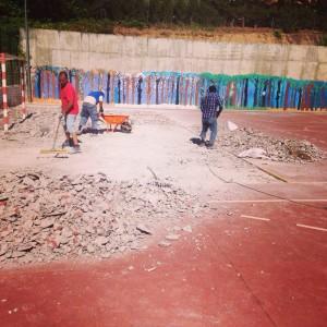 Obras de mejora en los colegios Ágora y Federico García Lorca