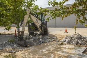 Obras entorno Complejo Deportivo Condesa de Chinchón