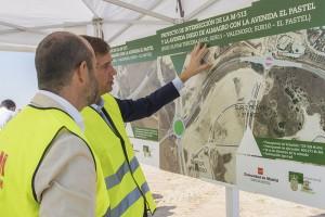 Inaugurada la rotonda que de acceso a los nuevos desarrollos de la M-513