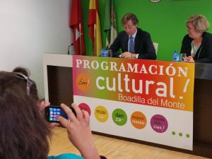 Presentación programación cultural Boadilla 2015