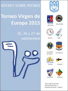 Torneo Hockey patines Colegio Virgen de Europa