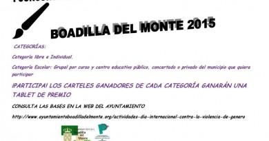 Concurso cartel contra la Violencia de Género