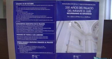 Inauguración primera fase rehabilitación del Palacio