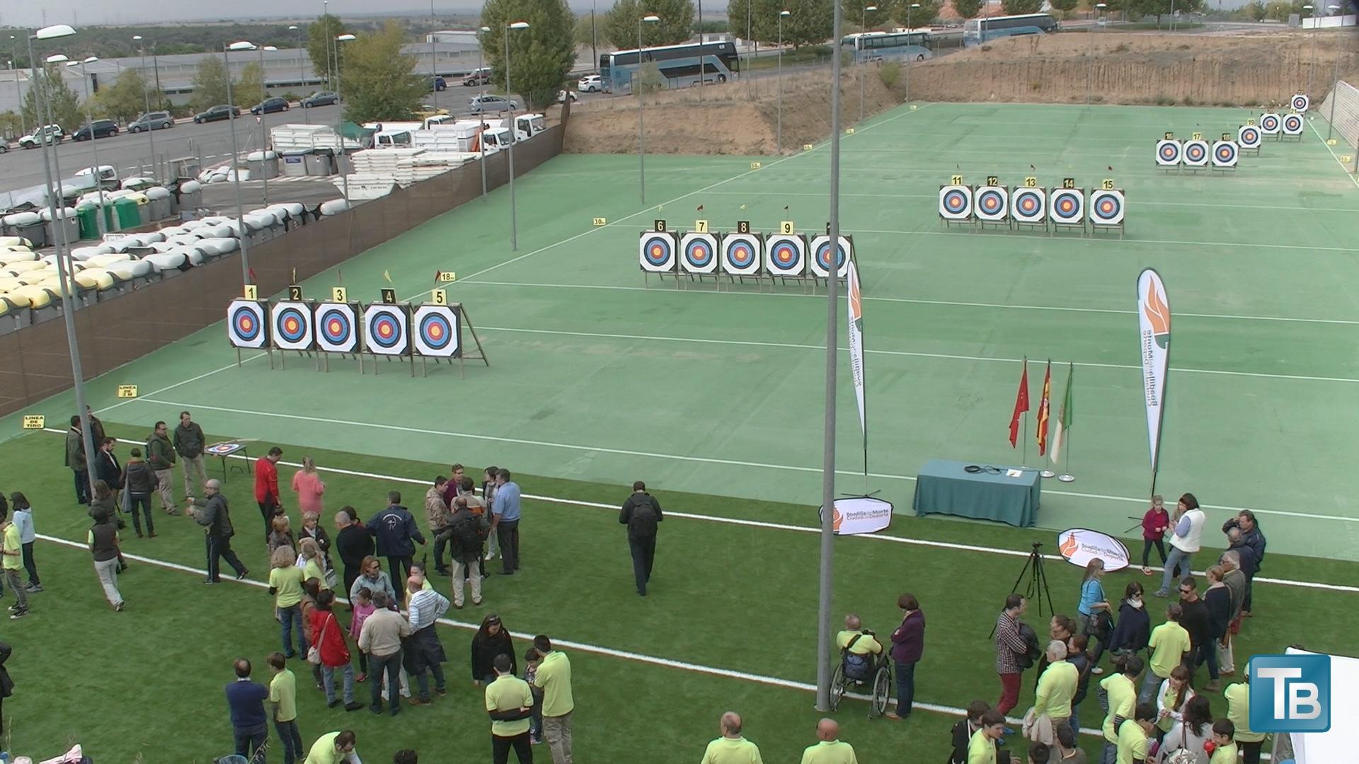 Nuevo campo de tiro con arco teleboadilla noticias de for Campo de tiro las mesas