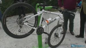 Puntos de reparación de bicicletas