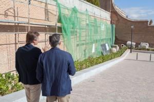 Rehabilitación muro perimetral del Palacio