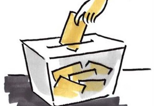 Exposición listas Censo Electoral 2015. Urna Electoral