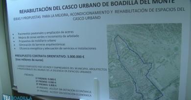 Concurso de ideas para la rehabilitación del casco histórico de Boadilla