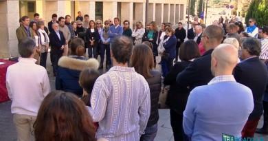 Minuto de silencio por los atentados en París el viernes 13 de Noviembre de 2015