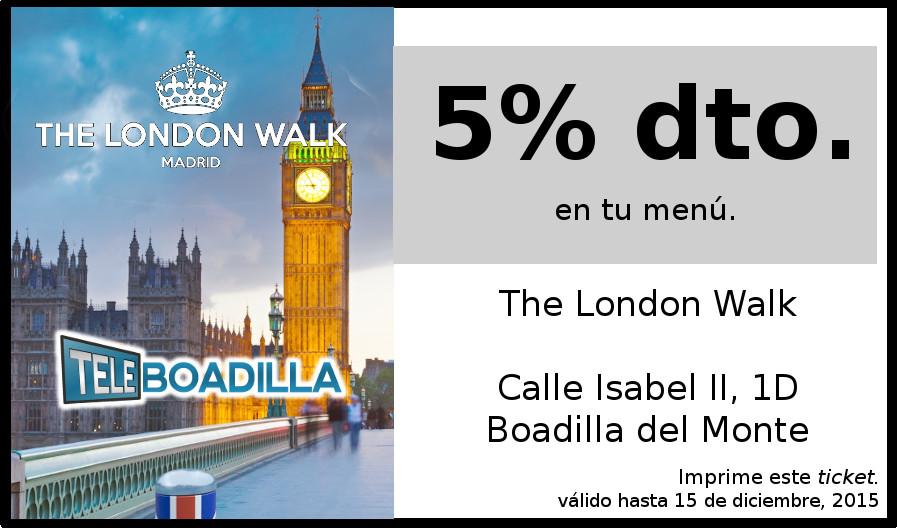 Ticket descuento LondonWalk