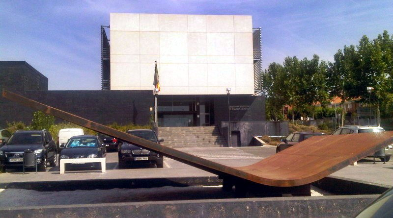 Centro de empresa municipal.