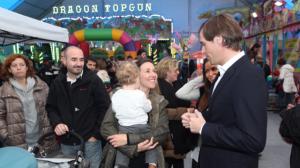 12.000 personas han visitado ya la Carpa de Navidad