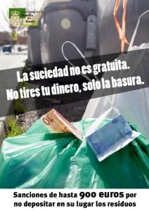 Campaña concienciación residuos en los contenedores
