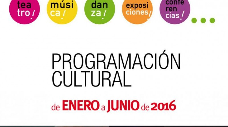 Cartel Programación cultural primer trimestre 2016
