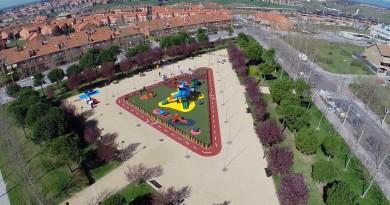 Parque Reina Sofia. Parques más accesibles para niños con problemas de movilidad