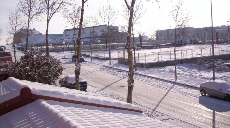 Foto nevada en Boadilla del Monte