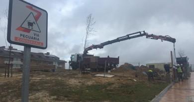 Construcción de una nueva gasolinera en Boadilla del Monte