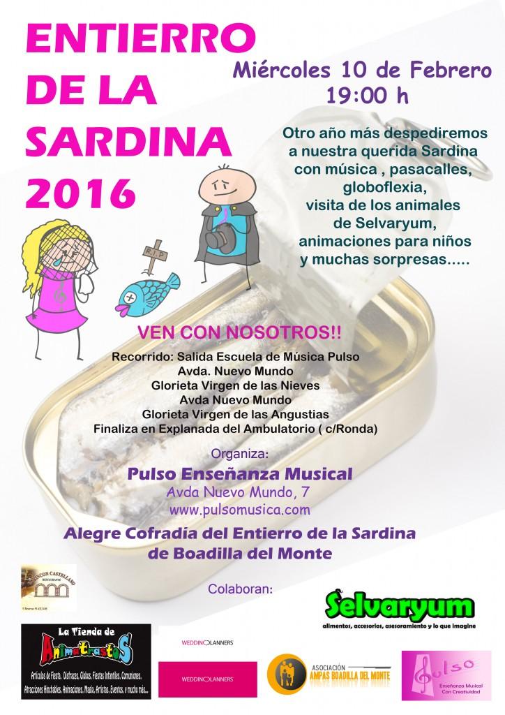 Entierro de la sardina 2016