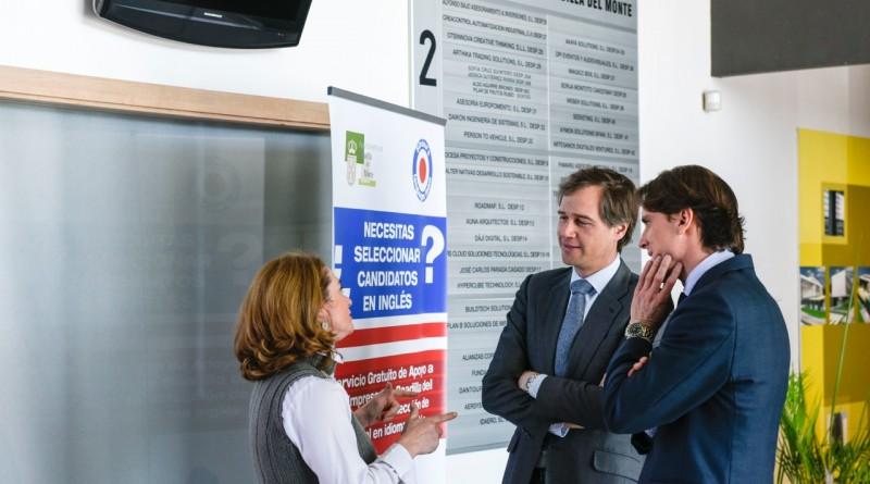 Prueba de inglés para emprendedores en el Centro de empresas de Boadilla