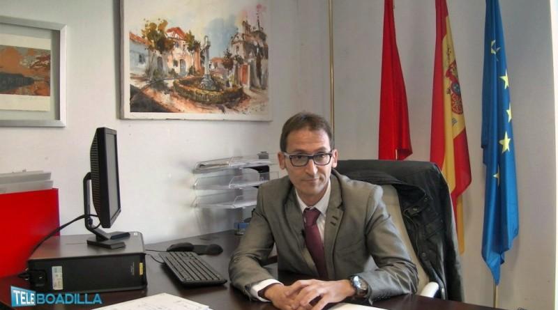 Ricardo Díaz. Portavoz de Ciudadanos en Boadilla del Monte