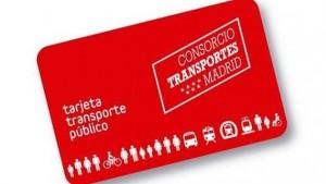 Abono de transporte público de la Comunidad de Madrid