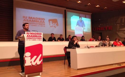 Asamble constituyente IU Madrid