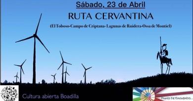 Ruta Cervantina en conmemoración del 400 aniversario de la muerte de Cervantes
