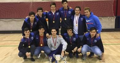 Virgen de Europa Junior Campeón de Liga Autonómica Hockey Patines
