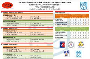 Campeonatos autonómicos de hockey patines. Final Four Virgen de Europa