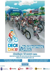 Decabike Majadahonda organizado por Decathlon