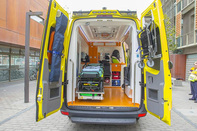 Nueva ambulancia Municipal en Boadilla del Monte 2