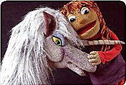 Marionetas El Unicornio de la alegría