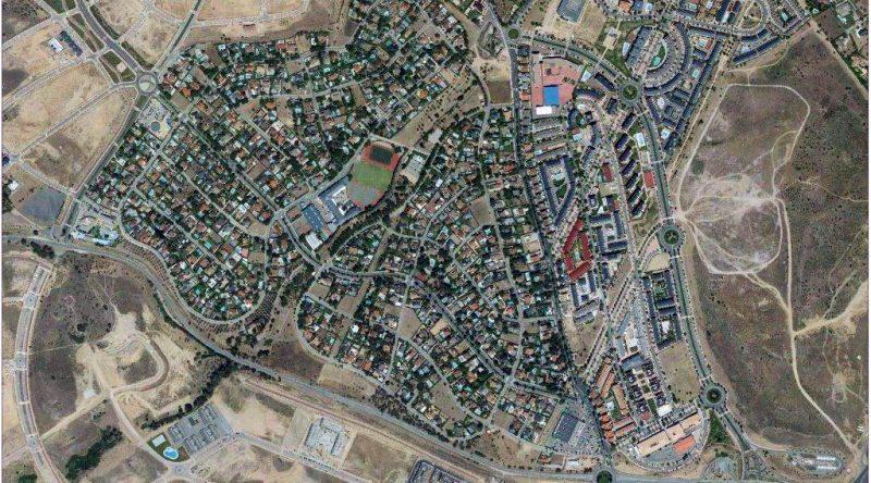Vista aérea del Olivar de Mirabal