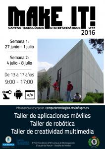 Campus tecnológico Make It 2016