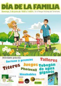 Día de la Familia en el Parque Víctimas del Terrorismo de Boadilla